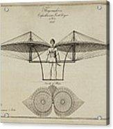 Flugmashine Patent 1807 Acrylic Print