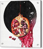 Fluidity Vii - Elena Yakubovich Acrylic Print by Elena Yakubovich