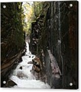 Flume Gorge Franconia Notch Acrylic Print