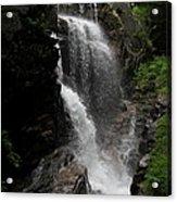 Flume Gorge Waterfall Nh Acrylic Print