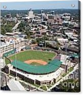 Fluor Field At The West End Greenville Acrylic Print