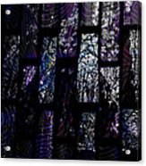 Fluoradescent Acrylic Print by Elizabeth S Zulauf