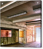 Fluorescent Underground Palm Springs Acrylic Print