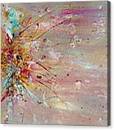 Fly Away Abstract Painting Acrylic Print
