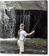 Fly Fishing Without Flies Acrylic Print