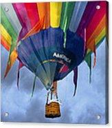 Flyin The Coop II Acrylic Print