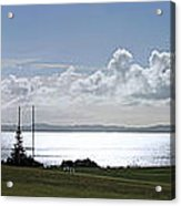 Flying At Macleans Park Acrylic Print