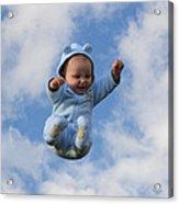 Flying Baby Acrylic Print