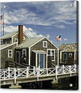 Flying Backwards-nantucket Massachusetts Series 05 Acrylic Print