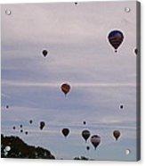 Flying Balloons Acrylic Print