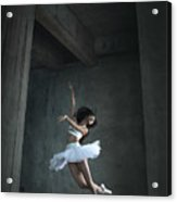 Flying Dance Acrylic Print