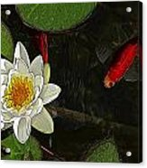 Flying Fish Acrylic Print