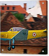 Flying Low Acrylic Print by Ivan Slosar