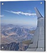 Flying Over Mount Sinai Acrylic Print