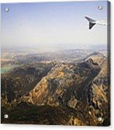Flying Over Spanish Land I Acrylic Print