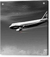 Flying Safe - Boeing 747 Acrylic Print