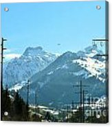 The Way To The Alps Acrylic Print