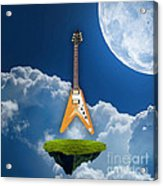 Flying V Guitar Acrylic Print