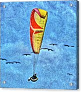 Flying With The Birds Acrylic Print