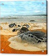 Foam Rocks 01 Acrylic Print