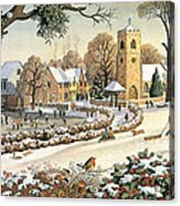 Focus On Christmas Time Acrylic Print