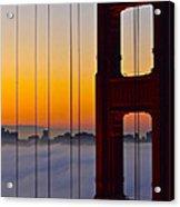 Fog City Acrylic Print