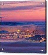 Fog City - San Francisco Acrylic Print