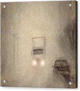Fog On The Road To Walsenburg Acrylic Print