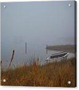 Fog On The Shore Acrylic Print