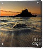 Fogarty Creek Sunset Acrylic Print