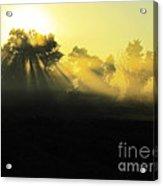 Fogged Up Sun Acrylic Print