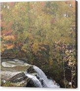 Foggy Brandywine Falls Acrylic Print