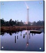 Foggy Cape May Light Acrylic Print