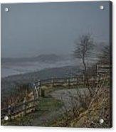 Foggy Coast Acrylic Print