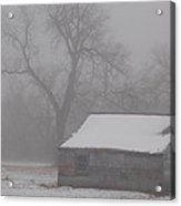 Foggy Cold Morning Acrylic Print