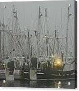 Foggy Harbor-1 Acrylic Print