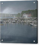 Foggy Coast Of Maine Acrylic Print