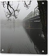 Foggy Morning In Paradise - The Bridge Acrylic Print
