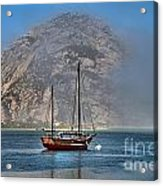 Foggy Morrow Bay Acrylic Print