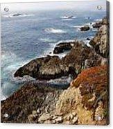 Foggy Pacific Coast  Acrylic Print