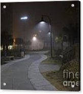 Foggy Path Acrylic Print