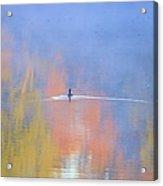 Foggy Swim Acrylic Print