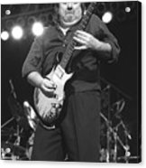 Foghat Guitarist Rod Price Acrylic Print