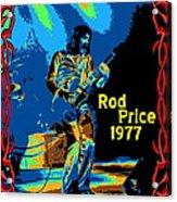 Foghat In Spokane 1977 Acrylic Print