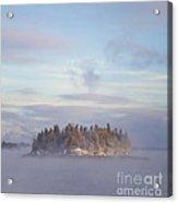 Fogscape Acrylic Print by Evelina Kremsdorf