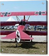 Fokker Dr.i Acrylic Print