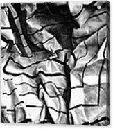 Folding Structure I Acrylic Print