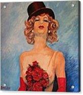 Folies Bergere Paris Acrylic Print