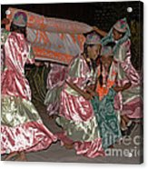folk dance group from Madagascar 2 Acrylic Print