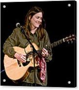 Folk Musician Denise Franke Acrylic Print
